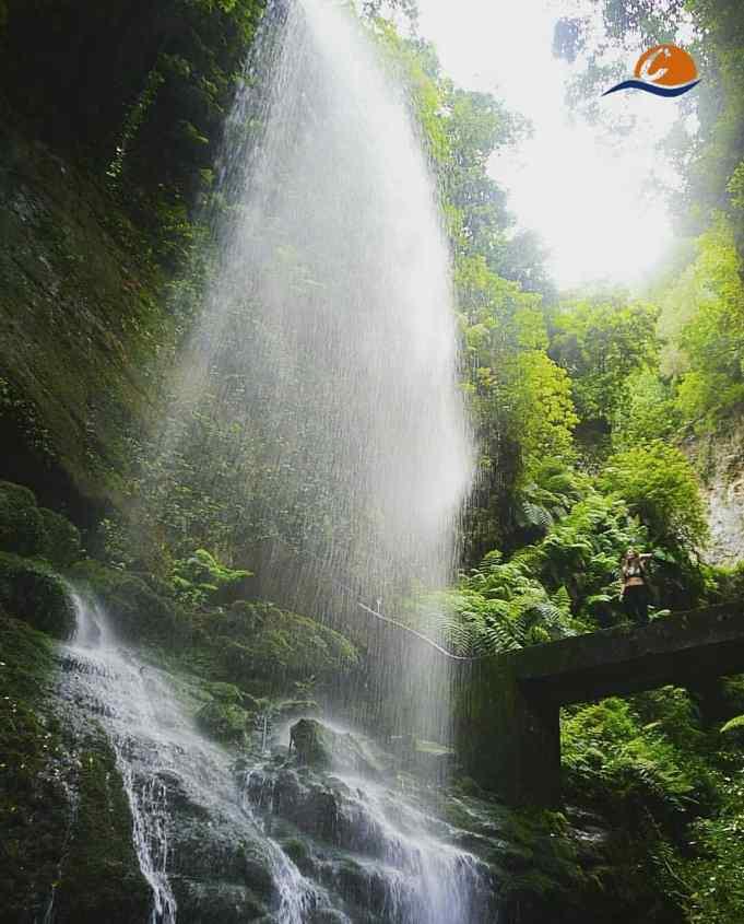 Cascada desde La Palma